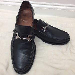 Allen Edmonds Slip On Loafers Arezzo Black 9.5D